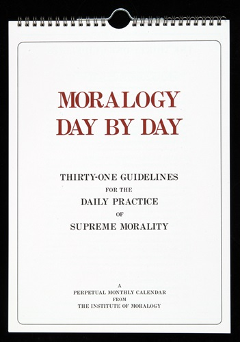 MORALOGY DAY BY DAY (壁掛用・31日分)